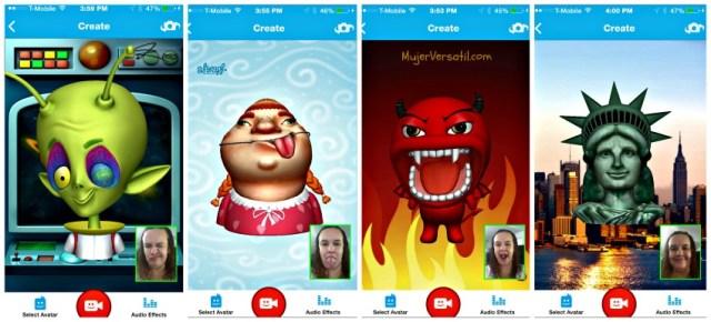 Intel Pocket Avatars App