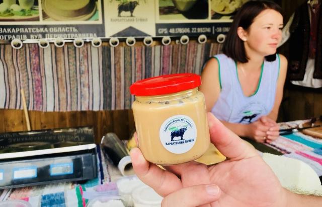 На Закарпатті почали виробляти згущене молоко з молока буйволів (ФОТО)