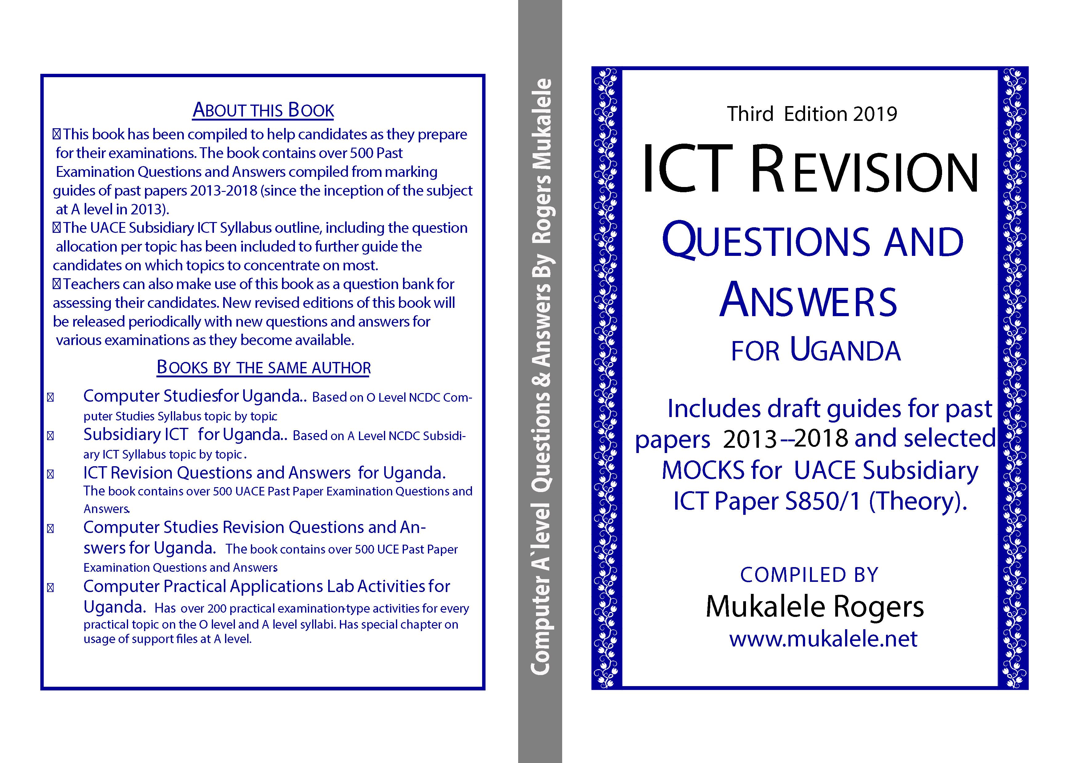 ICT Revision Questions and Answers for Uganda Booklet 3rd Edition 2019