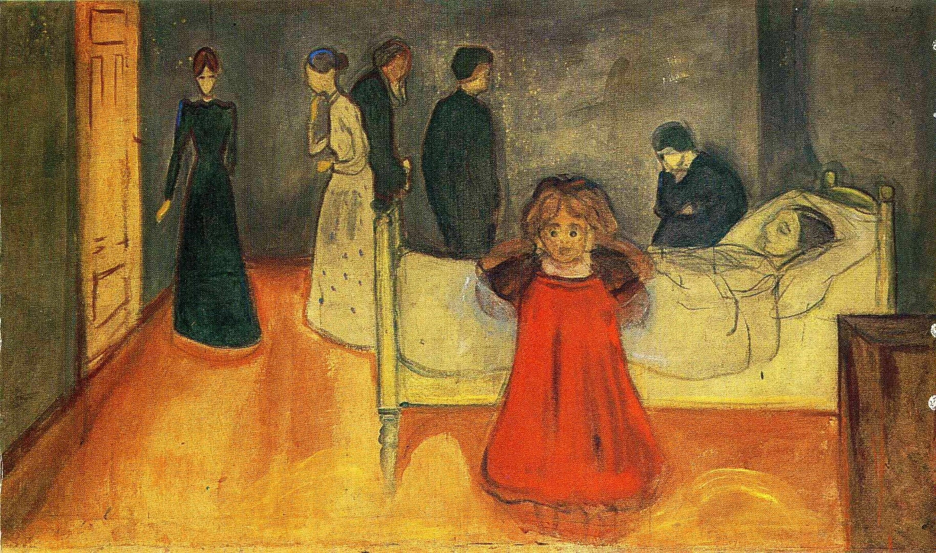 Edvard Munch Olen Anne ve Cocuk