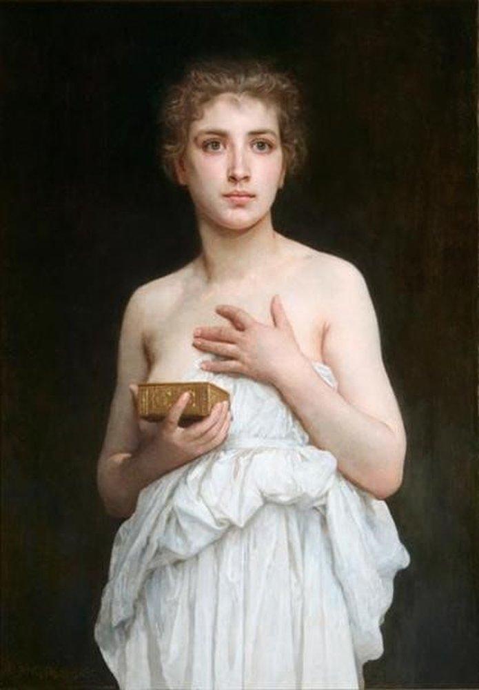 Pandora 3 William Adolphe Bougouereau min 1