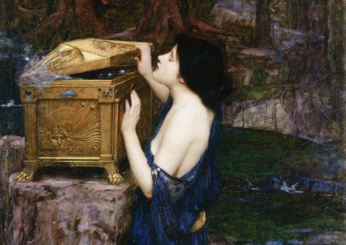 Pandora 6 John William Waterhouse min 1