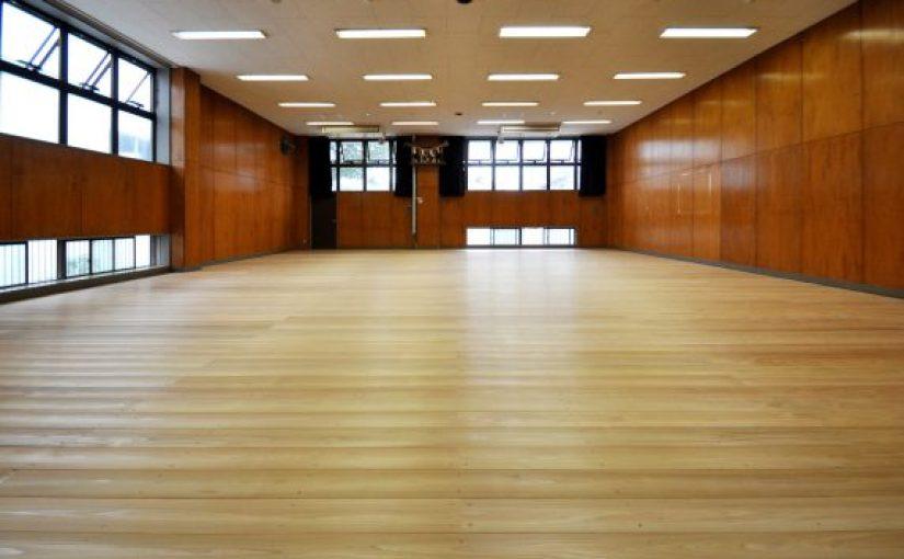 日本体育大学桜華高等学校の剣道場床が完成しました