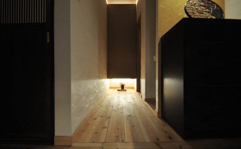 LL45マンション用無垢フローリング 伊予杉 150㎜巾 節有 自然OIL&WAX塗装
