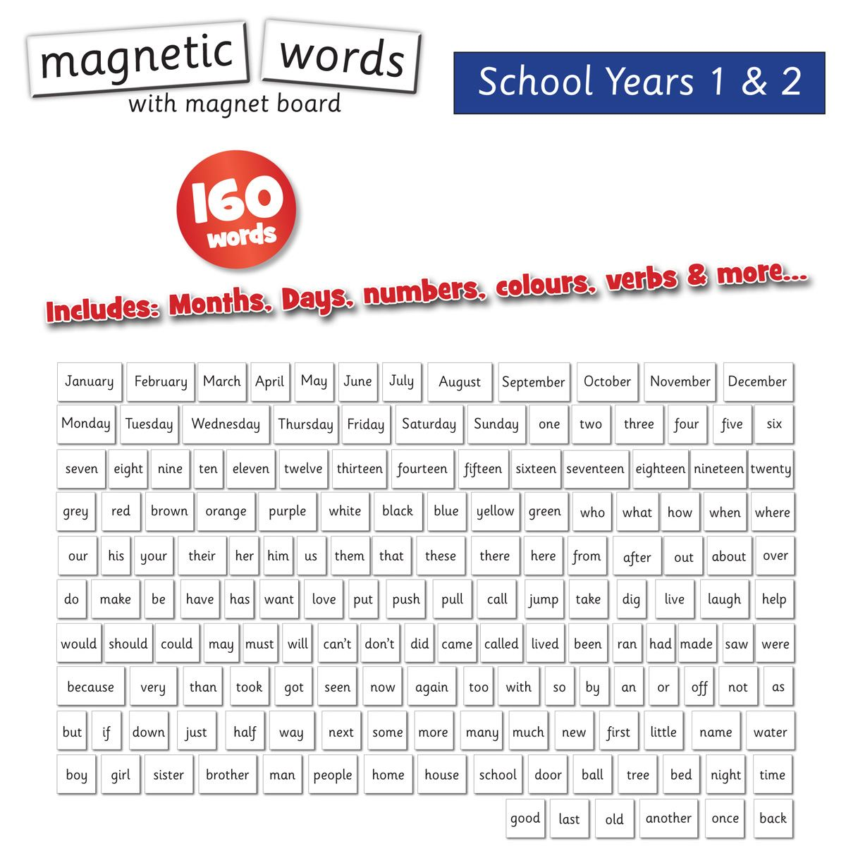 Magnetic Words Amp Board Years 1 Amp 2 Magnetic Words Amp Board Years 1 Amp 2