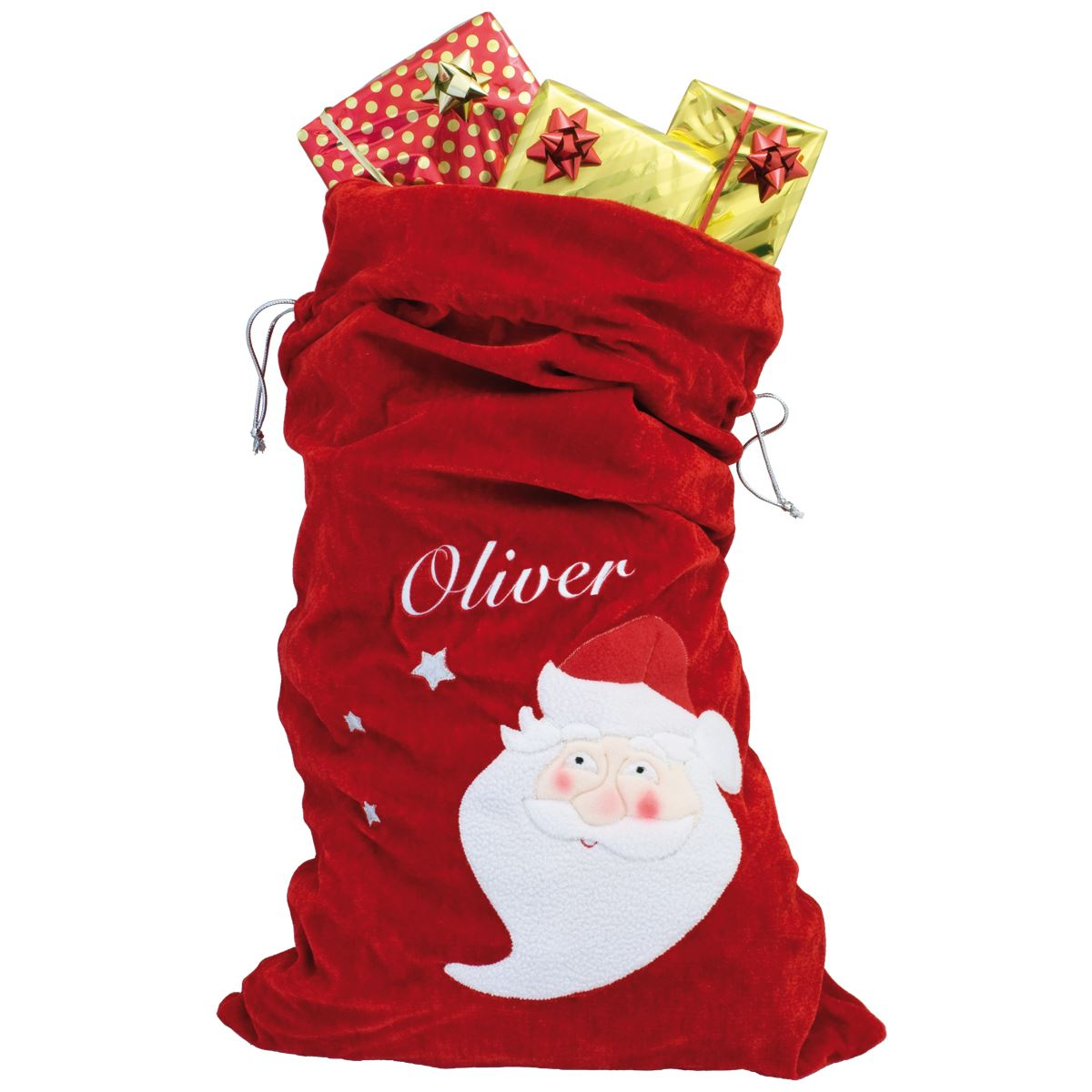 Named Christmas Sack