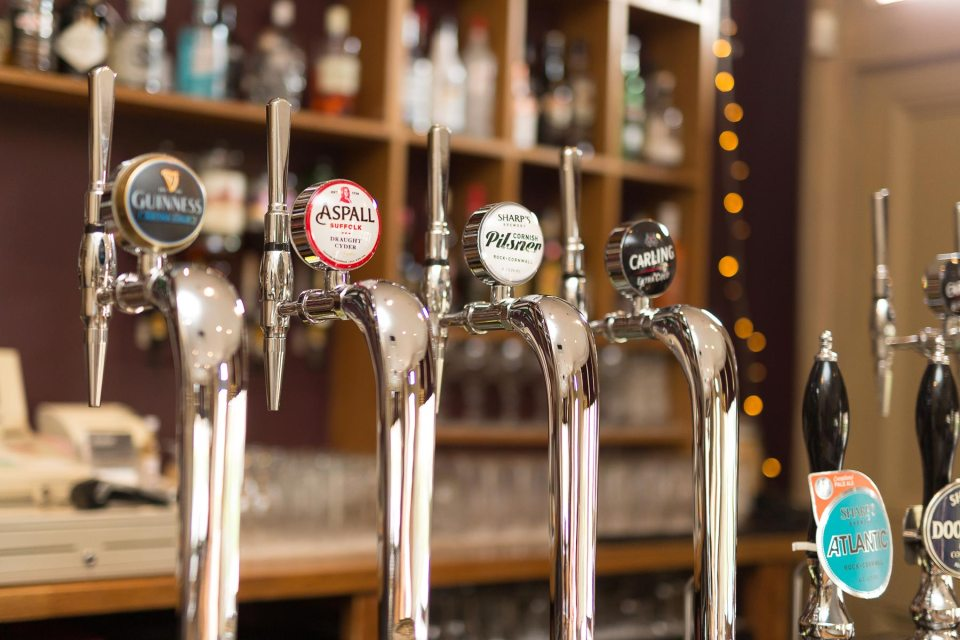 The Mulberry Tree has wide range of real ales and beers