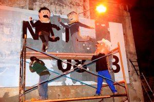 Els capgrossos i el mural