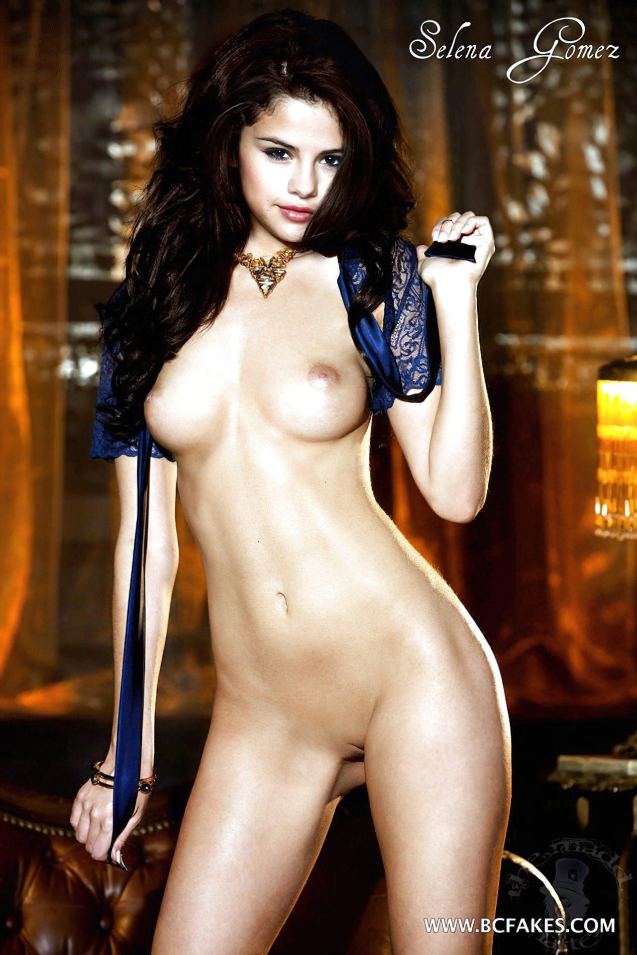 Selena Gomez Pelada (4)
