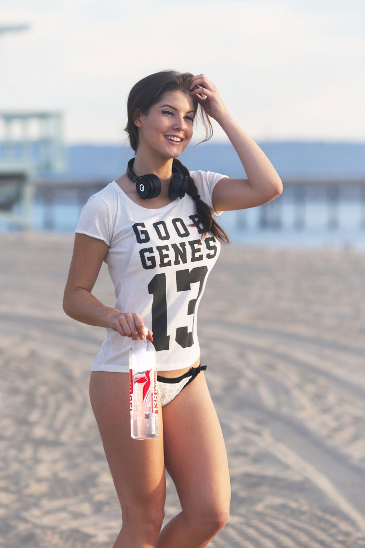 Mulher Sexy Praia