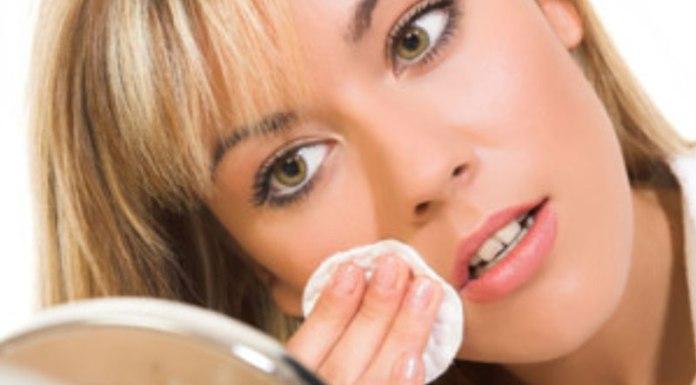 Limpeza facial - remover a maquilhagem