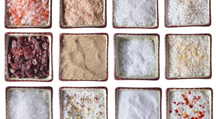 12 diferentes tipos de sal, conheça todas as diferenças