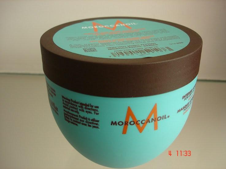 Máscara de Hidratação Moroccanoil tampa marrom