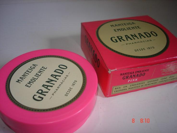 Manteiga Emoliente Granado Linha Pink resenha - manteiga corporal