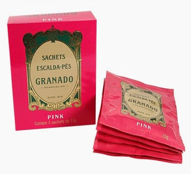 Sachê escalda Pés Granado Pink Resenha