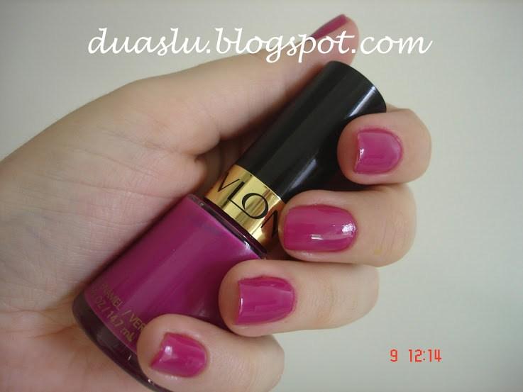 Plum Seduction Revlon resenha swatch esmalte rosa