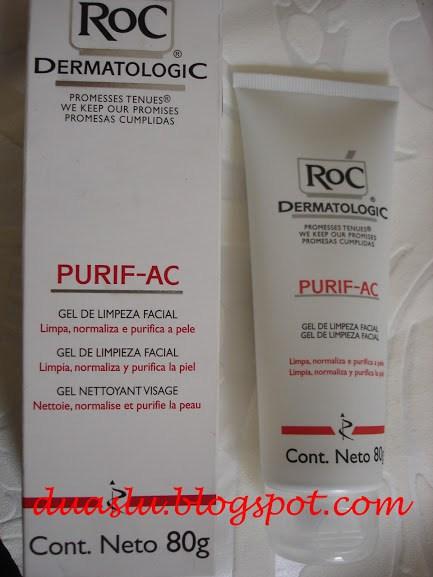 Purif -AC Roc Dermatologic resenha sabonete facial
