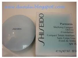 Shiseido Pureness – base compacta – resenha