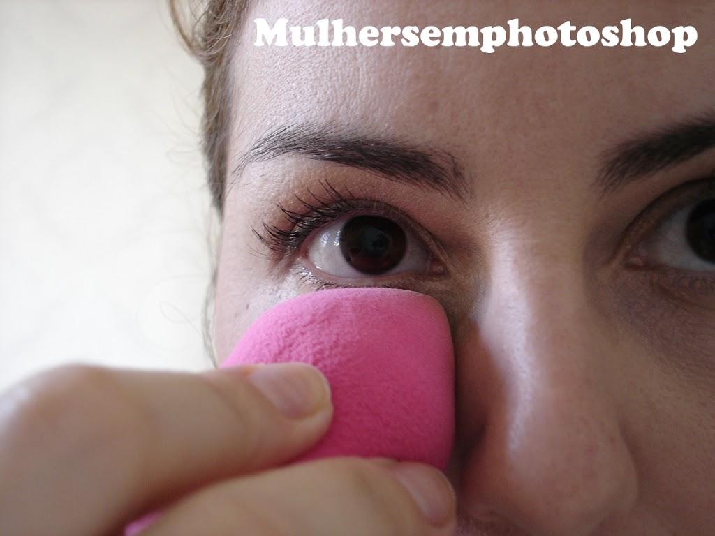 Esponja Belliz maquiagem - resenha Make Up 360