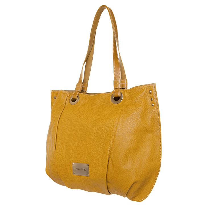 Bolsa amarela inspirações Dumond