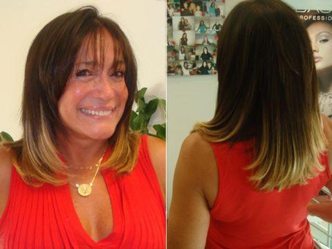 Mechas Californianas Suzana Vieira - ombré hair