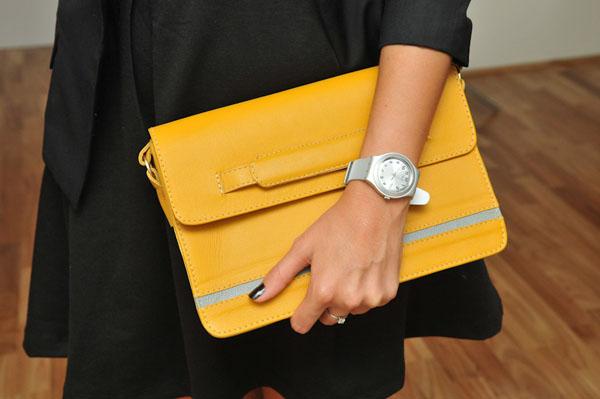 Bolsa Amarela inspirações Kim Kardashian