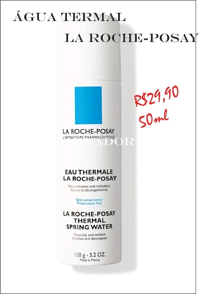 água termal La Roche - comparação com Vichy