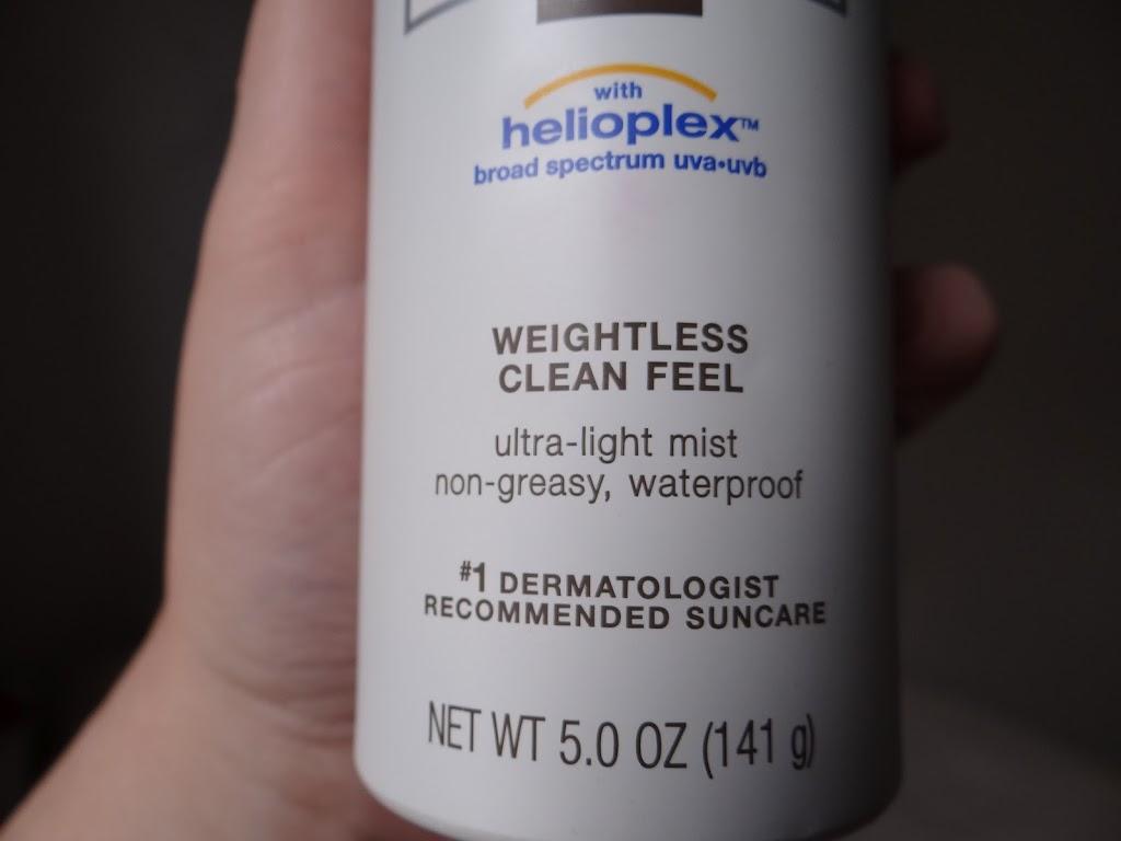 Neutrogena protetor solar Spray Ultra Sheer Body Mist Sunblock FPS70 resenha