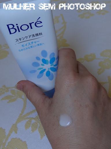 Biore espuma facial resenha