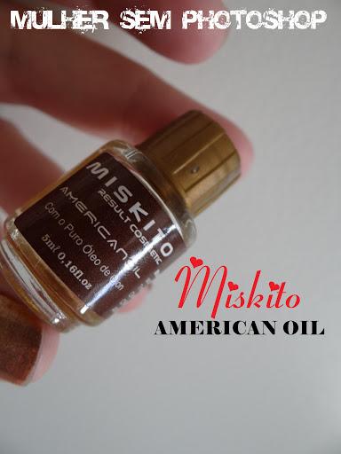 Óleo de Ojon American Oil Miskito resenha