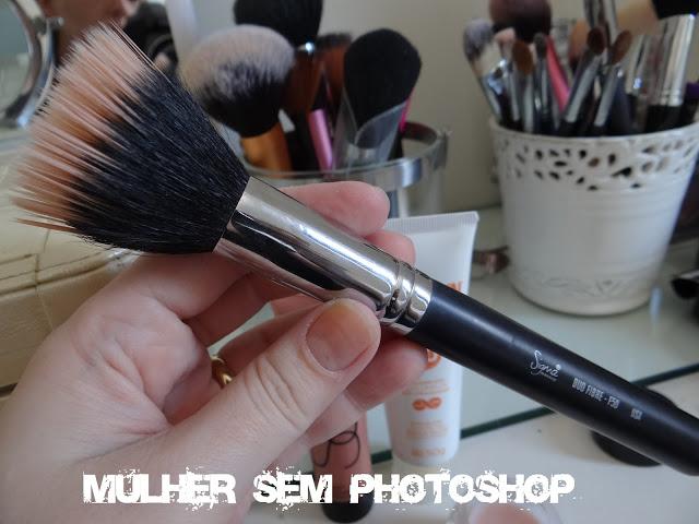 pincel F50 Sigma - maquiagem pele natural