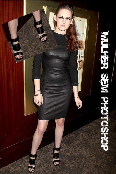 Kristen Stewart esmalte preto - famosas de esmalte preto