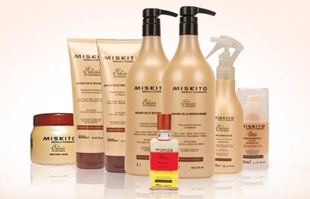 Promoção de produtos da Miskito Elixir Of Continents
