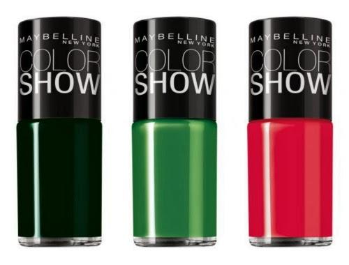Esmaltes Maybelline Color Show no Brasil!