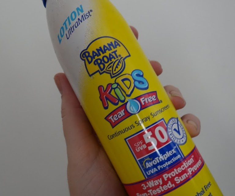 Banana Boat Kids – protetor solar infantil spray- resenha