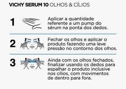 Liftactiv Serum 10 Olhos Cílios como usar