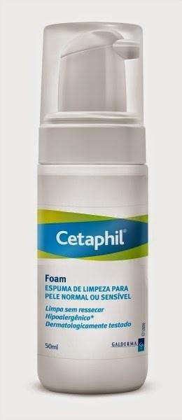 Cetaphil Espuma de Limpeza Pele Normal e Sensível