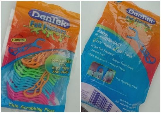 Fio dental para crianças: Dentek