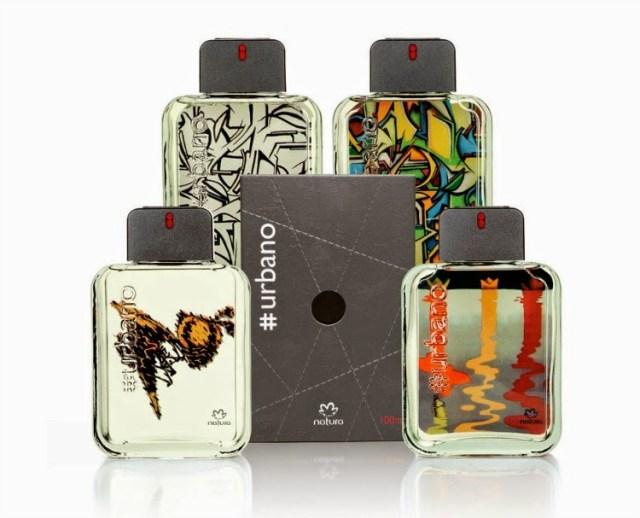 Lançamento da perfumaria Natura #urbano