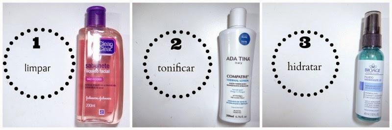 Qual a ordem certa para aplicar produtos de pele?