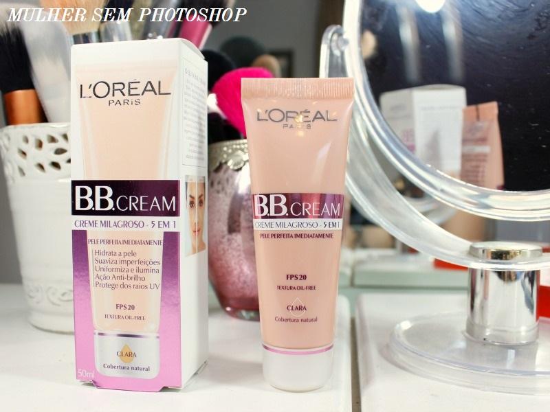 BB Cream 5 em 1 da Loreal - resenha