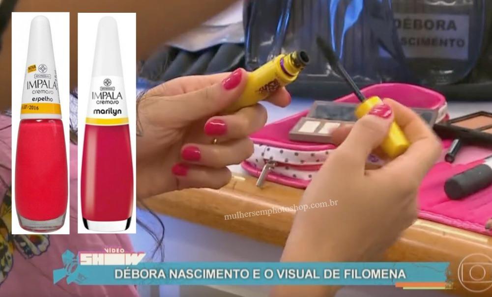 Esmalte rosa da Filó - Debora Nascimento - Eta Mundo Bom