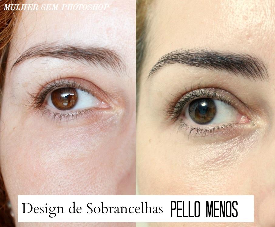 Design de sobrancelhas Pello Menos de Niterói