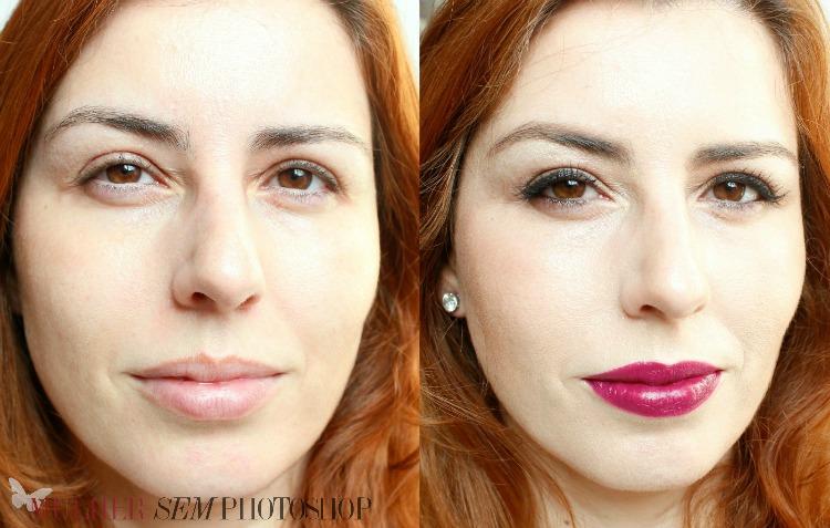 CC Cream Oceane antes e depois