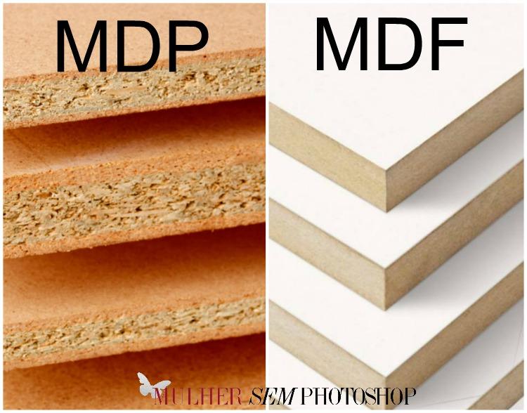Armários planejados em MDF ou MDP
