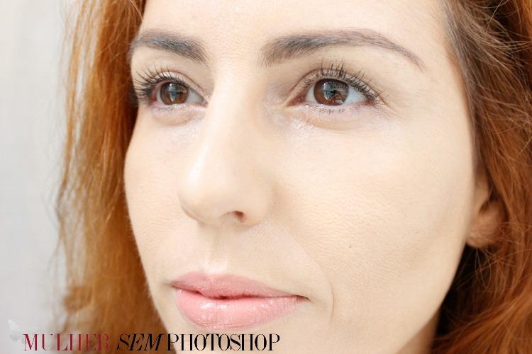 Vichy Ideal Soleil Efeito Base resenha - aplicado na pele