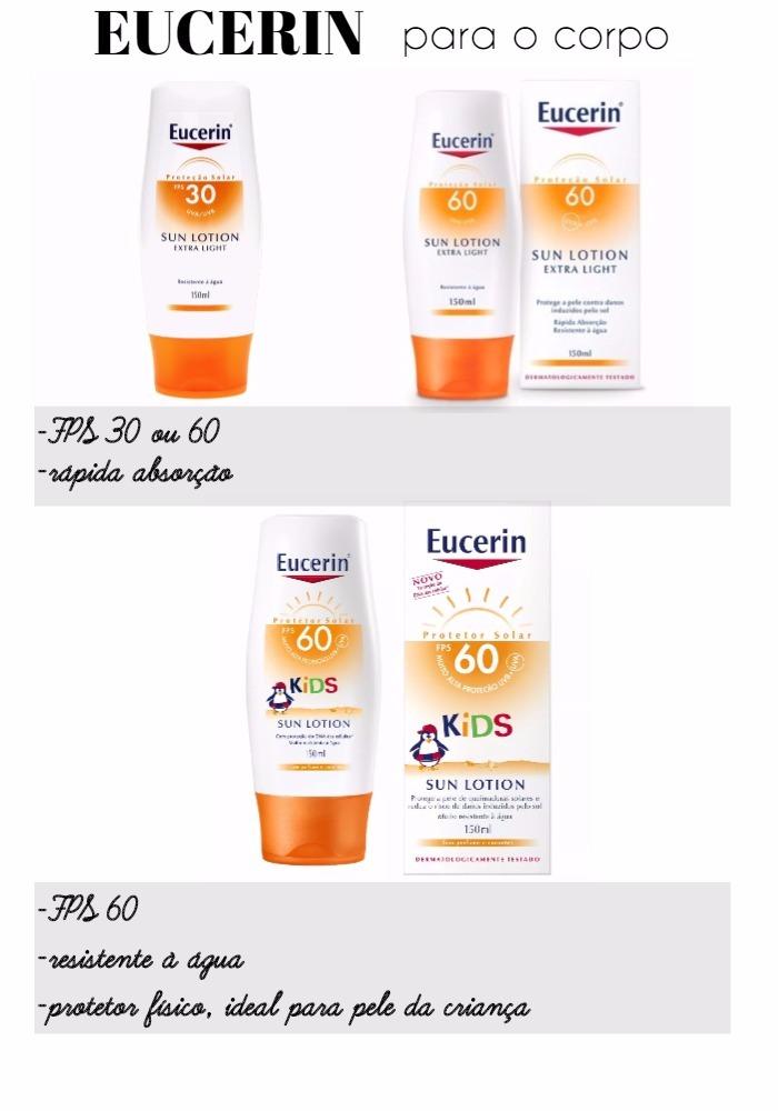 Protetor solar Eucerin - corpo