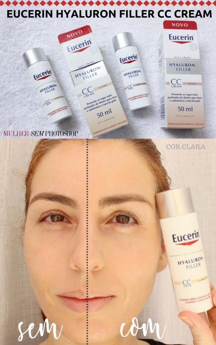 Eucerin Hyaluron Filler CC Cream - resenha