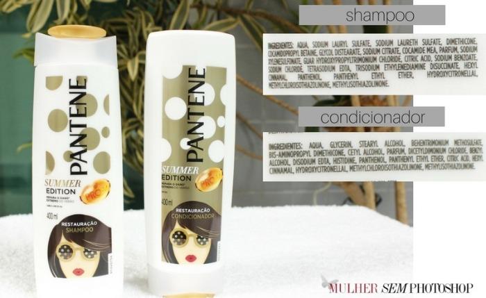 Pantene Summer Edition Shampoo e Condicionador