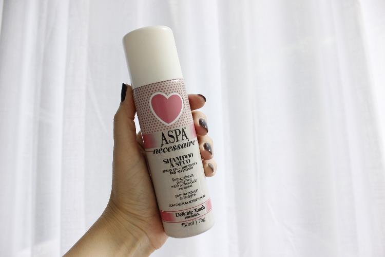 Shampoo seco Aspa Necessaire resenha